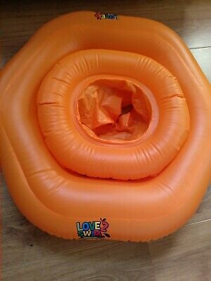 Baby Inflatable Swim Seat 1-2 Year Love 2 Swim