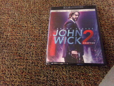 John Wick Chapter 2 4K Ultra HD + Blu-Ray + Digital Movie