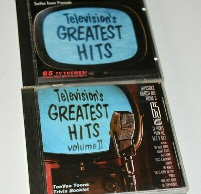 Television's Greatest Hits 2 CDs (Vol 1 & 2) 130 TV Themes