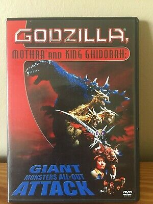 Godzilla, Mothra, and King Ghidorah: Giant Monsters All Out Attack (DVD, 2004)