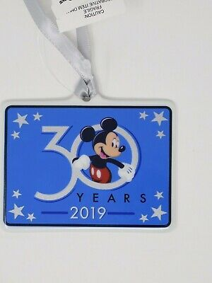Disney Hollywood Studios 30th Anniversary Christmas Holiday Ornament 2019 Mickey