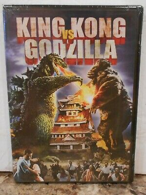 King Kong Vs. Godzilla (DVD, 2009) RARE SCI FI ACTION BRAND NEW