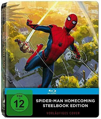 Spider-Man: Homecoming - Exclusive Steelbook [Blu-ray] New!!!