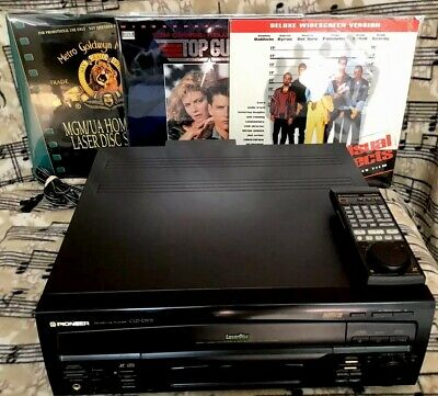 Pioneer Cld-D702 Ld/Cd Player Remote Manual Orig Box Movies Excellent Condition
