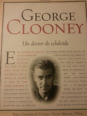 George Clooney lot collection report spanish magazine bis2