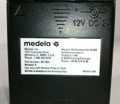 Medela Battery Pack Power Supply 12Volts 9017002 57000 55000 8480