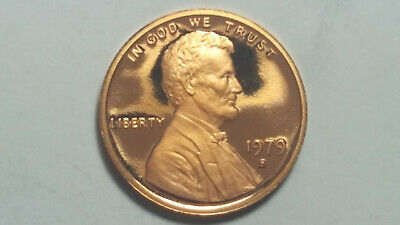 1979-S GEM PROOF TYPE 1 CLEAR S Lincoln Memorial Penny BRILLIANT UNCIRCULATED #1