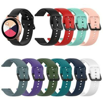 S/L Sports Silicone Watch Wrist Band Strap For Samsung Galaxy Watch Active R500