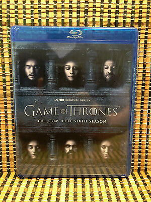 Game of Thrones: Season Six (4-Disc Blu-ray, 2016)GoT.Sixth/Stark/HBO/TV Series