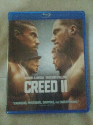 Creed II (Blu-ray DVD only no DVD no digital NO RESERVE***FREE SHIPPING***