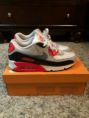 Details about Nike Air Max 90 OG INFRARED Men's Size 10