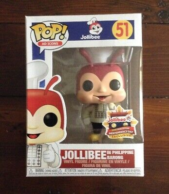 BRAND NEW! FUNKO Pop! Jollibee 40th Anniversary Exclusive AVAILABLE