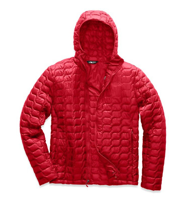 The North Face Men's Thermoball Hoodie Slim Rage Red Sz Large (MSRP $220) NWT