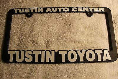 Tustin Auto Center >> Cabe Toyota Socal Dealership License Plate Frame Original