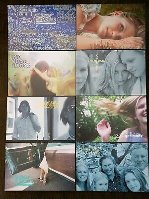 Spectacular set of 8 postcards from THE VIRGIN SUICIDES Kirsten Dunst 1999