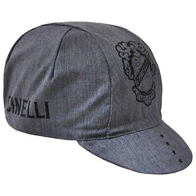 NEW Cinelli Vigorosa Cycling//Bicycle Cap Made in Italy Gray /& Pink
