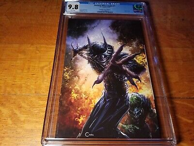 Batman Who Laughs 1 (2019) CGC 9.8 Scorpion Comics Edition C, Crain Cover