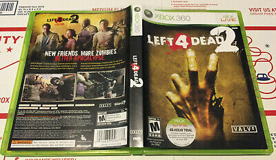 XBOX 360 Horror Halloween Left 4 Dead 2 Video Game In Case With