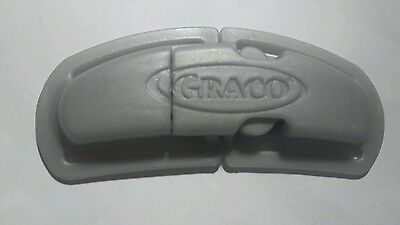 Graco Chest Clip Safety Harness Buckle for Infant Baby Car Seat Black Gray Brown