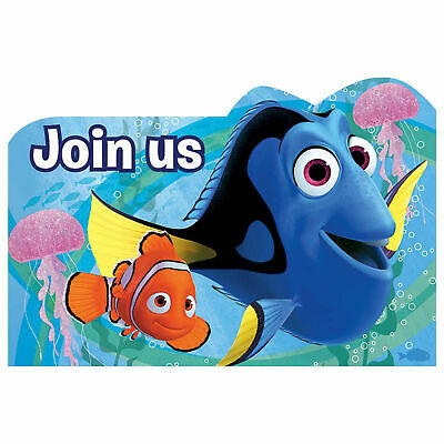 FINDING NEMO DORY Birthday Party Invite Invitation Personalised