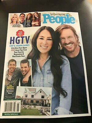 People Special Edition The Best of HGTV (2019) Chip & Joanna Gaines Flip Or Flop