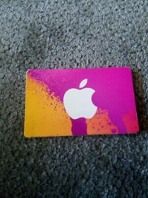 Apple App Store & iTunes $100 Physical Gift Card!!!