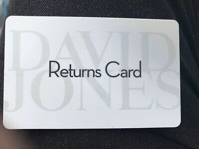 David Jones Gift Card Rrp$760💳 Valid Until 2021 👌