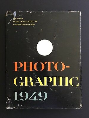 Vtg 1949 Photo-Graphic Hardback Book Fine Art Photos, MCM, Abstract, Portraits,