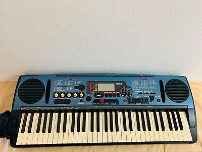 Yamaha DJX 61 Full Size Keyboard Synthesizer Portatone PSR-D1