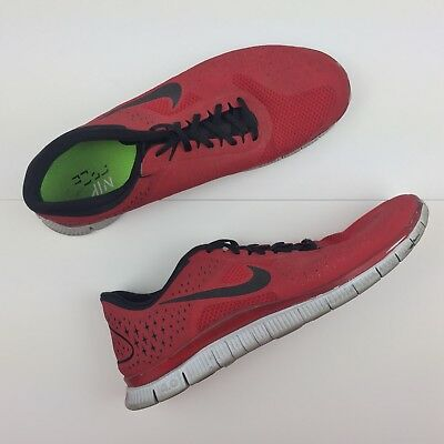 NIKE FREE 4.0 V2 Red Running Shoes Training Sneakers Men's