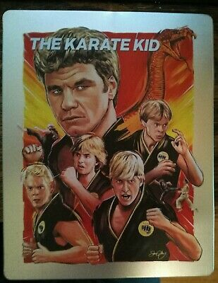 The Karate Kid (Blu-Ray) LIMITED EDITION POP ART STEELBOOK
