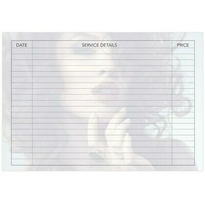 Dateline Professional Salon Service Hairdressing Record Cards 100pk