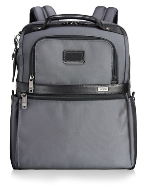 Tumi Alpha 2 Slim Solutions Brief Pack Backpack Pewter Brand New with Tags