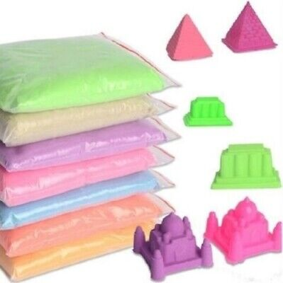 50G/bag Dynamic toys Educational No-mess Magic Children Play Sand Indoor Kids