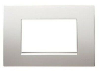 Clipsal MODENA 800-SERIES COVER Single, Horizontal Mount PLATINUM *Aust Brand