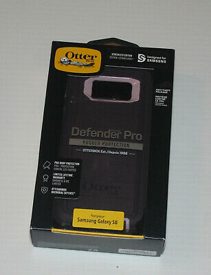 Otterbox Defender PRO Series For Samsung Galaxy S8 CaseWith Clip on Holster
