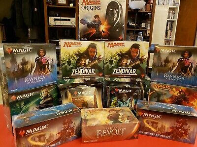 Sealed MtG Lot: Modern Horizons, Ultimate Masters, War of the Spark, & more