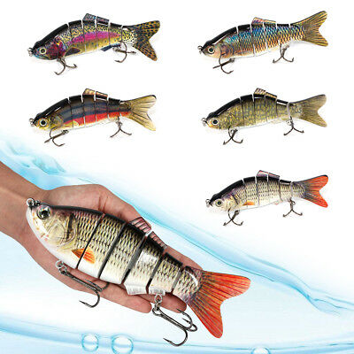 SALE 4-BULK SWIMBAIT Largemouth Bass Striper Peacock Musky Lure