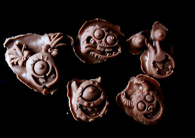 Monster Set -Flexible Silicone Mold-Cake Cookie Crafts Clay  Cupcake Candy