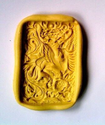 Phoenix g3-Flexible Silicone Mold-Cake Bird Cookie Crafts Cupcake Clay Candy