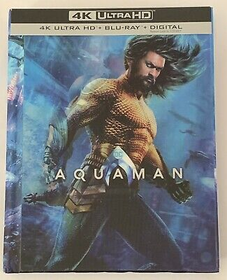 Aquaman (4K Ultra HD Disc ONLY + Target Exclusive Case/64 page book) SEE INFO!