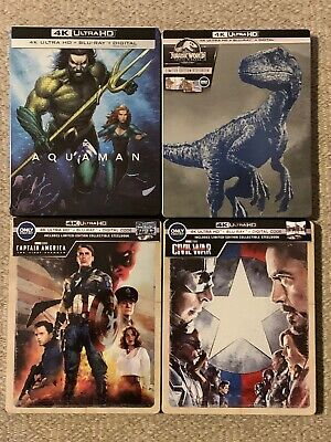 4K Steelbook Lot: Buyer Chooses any 4K Disc ONLY title with Steelbook *SEE INFO*