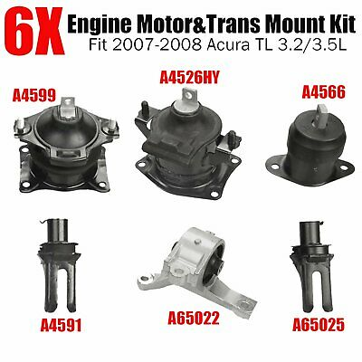 Anchor 3328 Engine Mount Front Left OR Right Replacement Parts ...