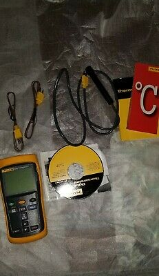 Fluke Thermocouple Thermometer 52 II Series Dual Display Selectable Readout