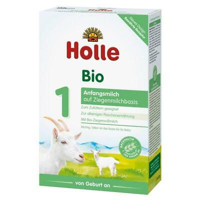 UGLY BOX Holle Organic Goat Milk Stage 1 (2 boxes x 400g) Expires 12/2019