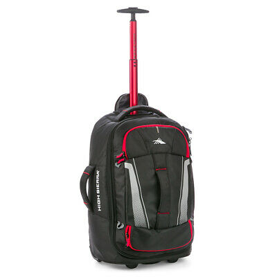 NEW High Sierra Composite V3 WS Wheeled Duffel Bag Black 56cm