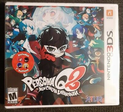 PERSONA Q2: NEW Cinema Labyrinth Launch Edition NINTENDO 3DS