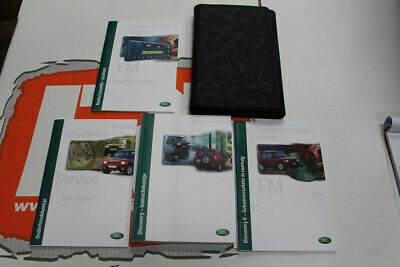 VDC000090DUT DUTCH Discovery 2 Owners hand book wallet service portfolio + audio