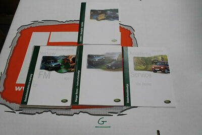 VDC000020DUT DUTCH Range Rover P38 Owners hand book service portfolio + audio