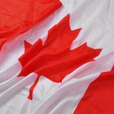 3'x5' FT National Canada Canadian Flag Maple Leaf Banner Polyester Grommets /MA